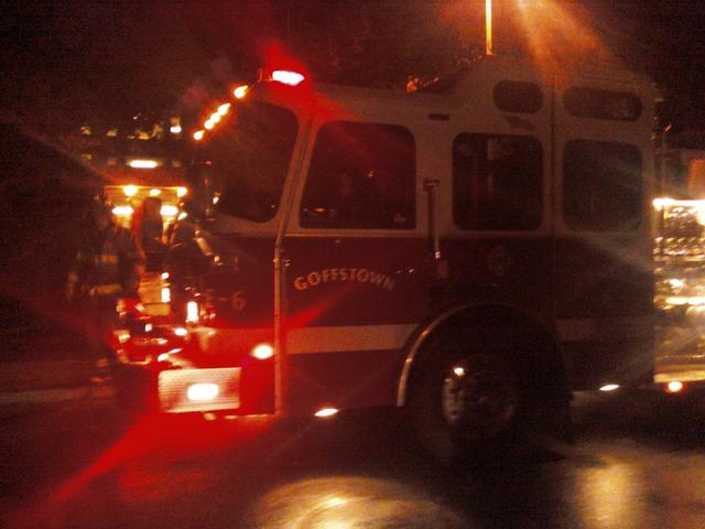 Cellphone Pic: Dorm Evacuation by Hannah Doucette