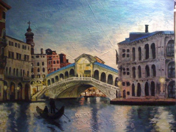 A Night in Venice by Molly Walsh