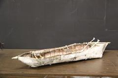 Canoe from Birchbark