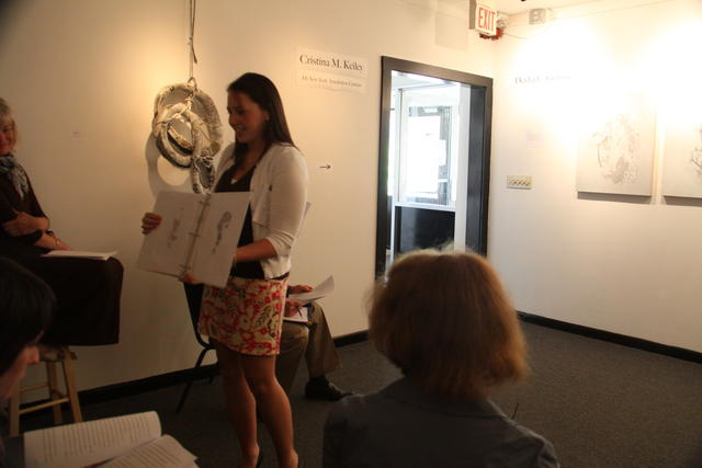 Thesis Presentation to Fine Arts faculty