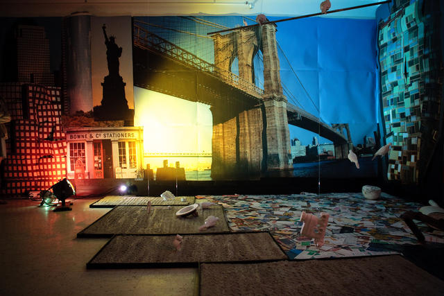 'My New York' installation view